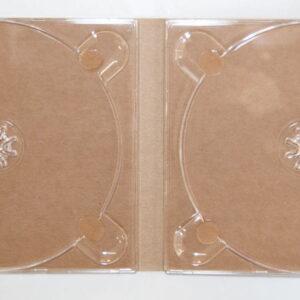 Digipack Eko na 2 płyty (bez nadruku), papier ekologiczny