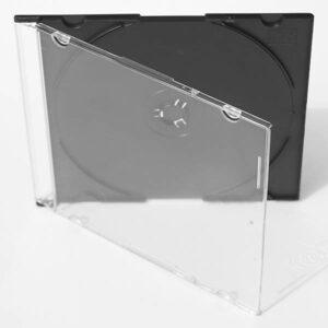 Pudełko plastikowe na 1 płytę typu SLIM, różne kolory